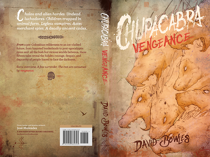 CHUPACABRA VENGEANCE: FULL COVER